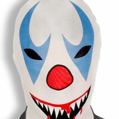 Enge clownsmasker zentai pak