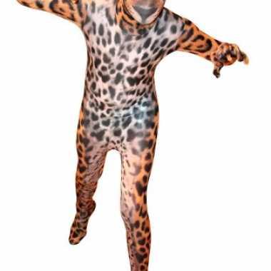 Zentai luipaard kids pak