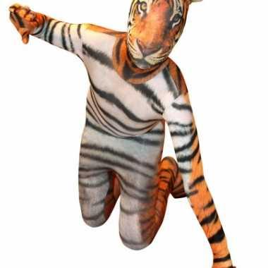 Zentai tijger kids pak